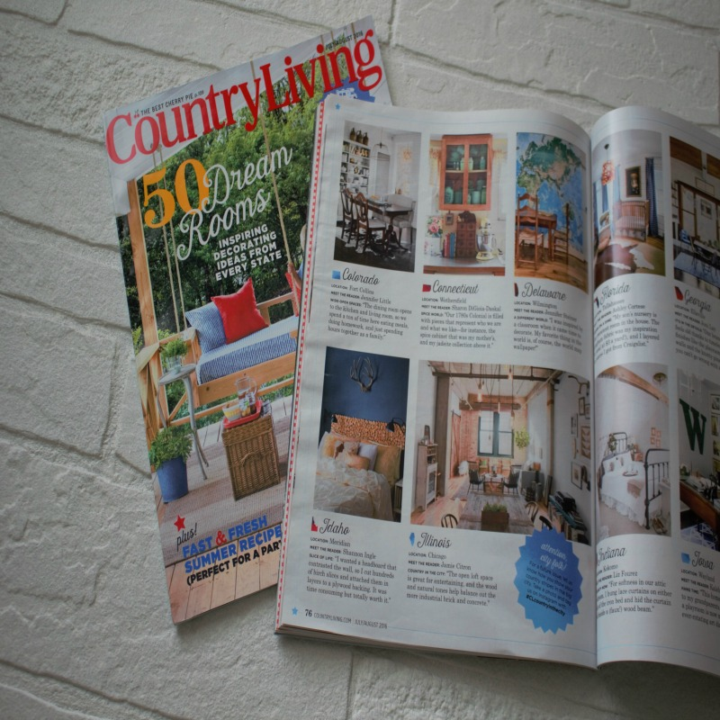 How I Ended Up In Country Living Magazine