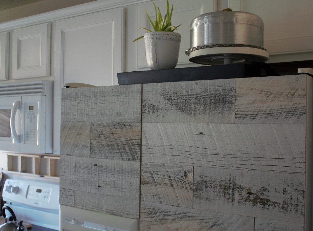 Reclimed wood appliance Stikwood