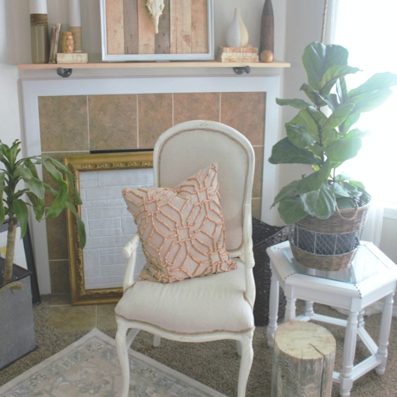 DIY on a Budget!  A Cheaters Guide on How to Upholster a Chair
