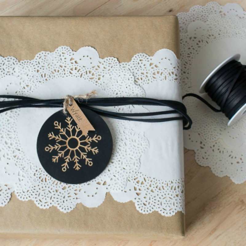 Adding Farmhouse Charm To Your Brown Paper Wrapped Christmas Gifts